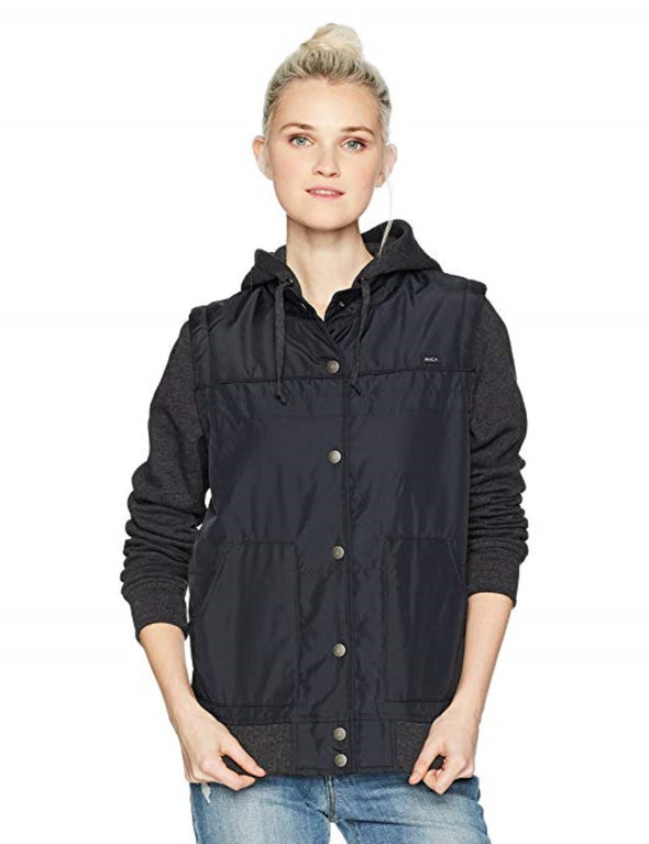 RVCA Womens Former Colorblocked Jacket - The Smooth Shop