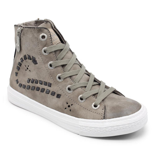 Blowfish Malibu Womens Kalli Sneakers ZS-0328, Lt Gry Cecilia Pu, 10 - The Smooth Shop