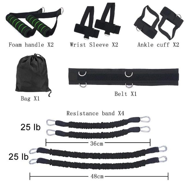 POWER BOXING™ Resistance Bands - osomzone