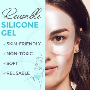 New Anti-Wrinkle Silicone Skin Patches