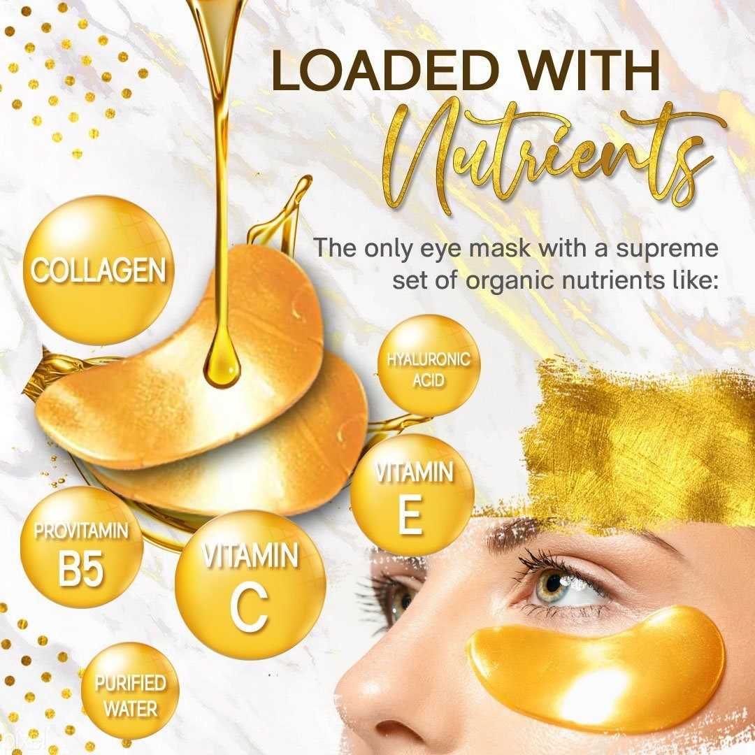 Gold Eye Mask Patches