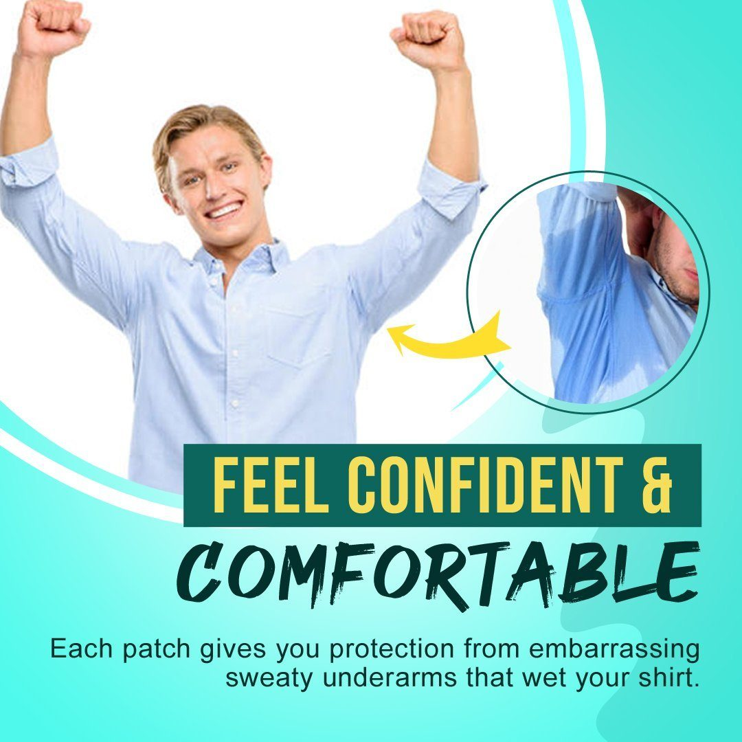 Underarm Sweat Absorbent Patch