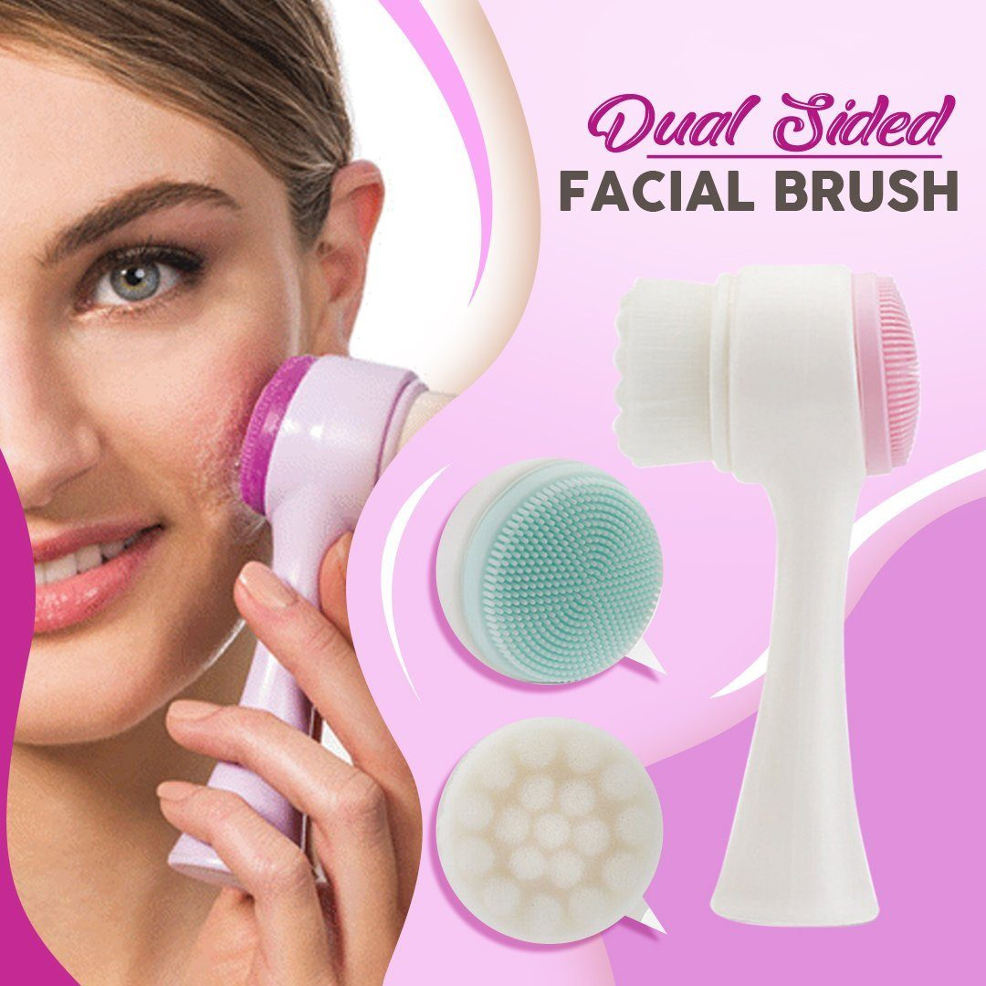Double Sided Facial Brush