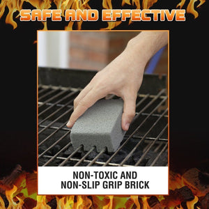 Grill Scrub & Clean Pumice Bricks