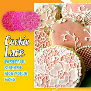Lace Cookie Silicone Mold