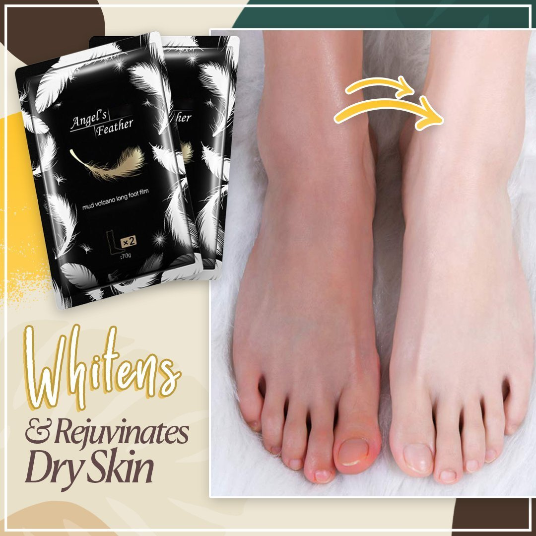 Full Leg Cover Volcanic Mud Exfoliating Mask