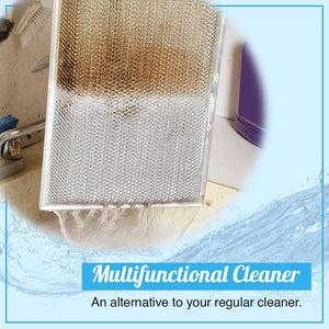 Multifunctional Effervescent Spray Concentrate Cleaner