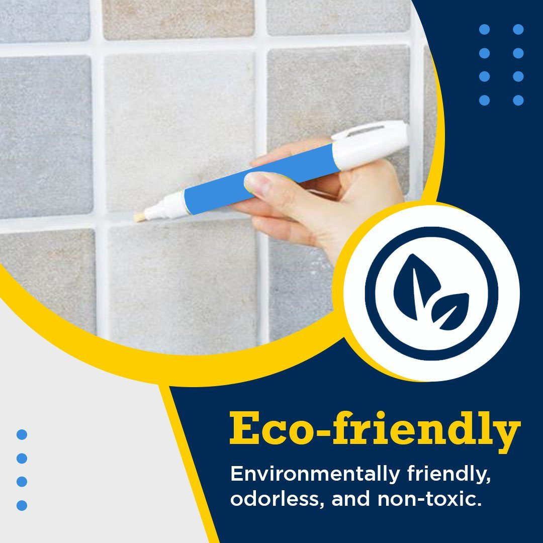 Waterproof Grout Marker Repair Pen