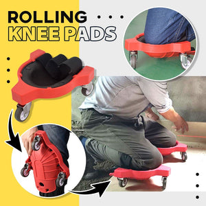 Rolling Knee Pads