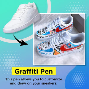 Sneakers Customizable Graffiti Pen