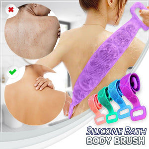 Silicone Bath Body Massaging Brush
