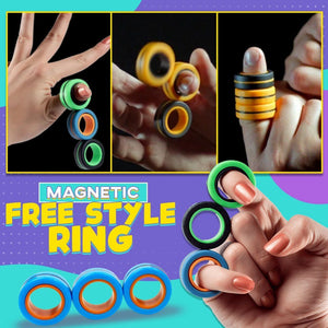 Magnetic Free Style Ring