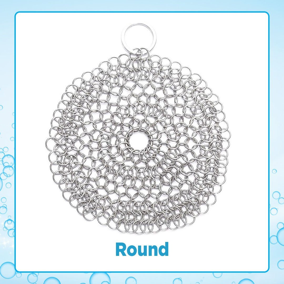Cleaning Chainmail Scrubber