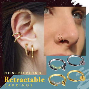 Stainless Steel Non-Piercing Septum Hoop