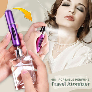 Mini Portable Perfume Travel Atomizer