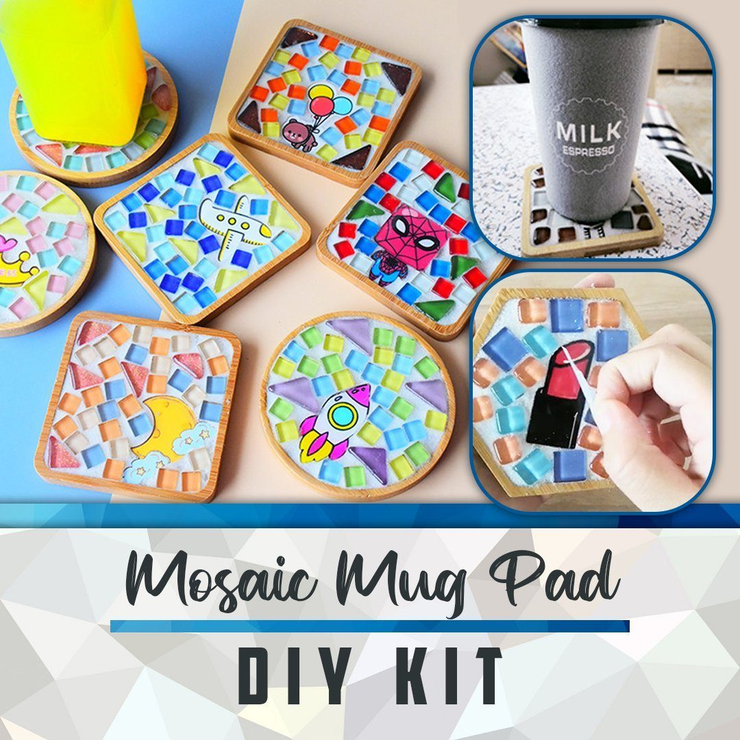 Mosaic Mug Pad DIY Kit