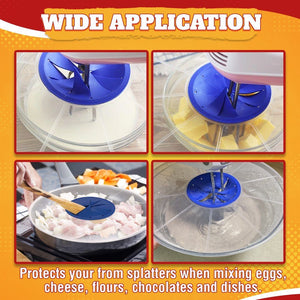 Safe Mixing Bowl Splatter Guard