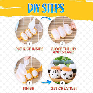 DIY Rice Ball Mold