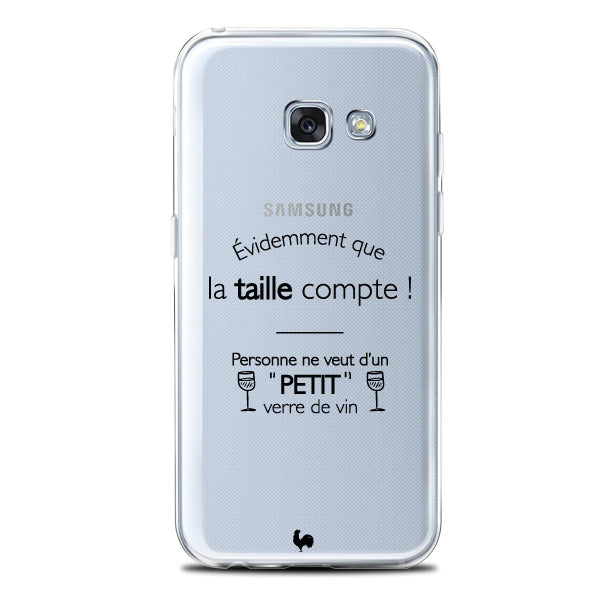 coque transparente galaxy a5
