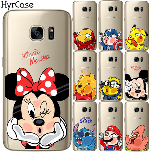 samsung galaxy s6 edge plus coque minnie