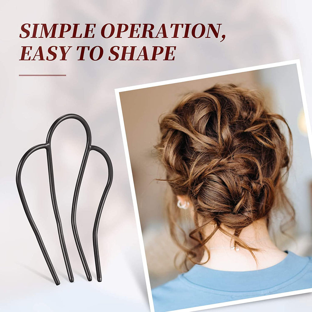 Hair Pin Hair Bun Plug Holder