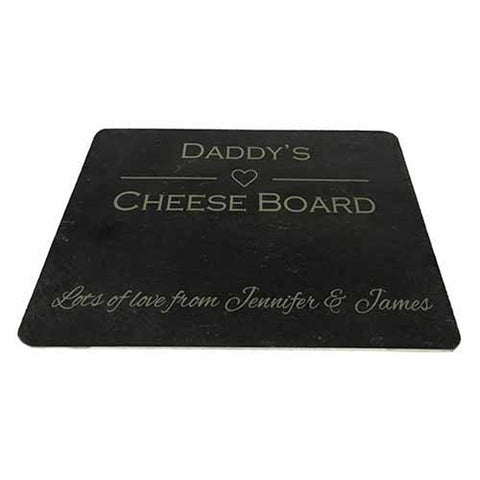 Personalised Daddy's Cheese Board