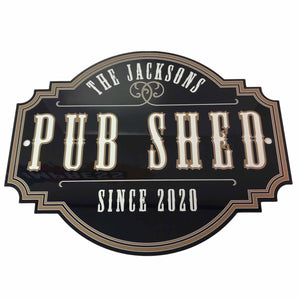Western Theme Pub Sign