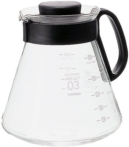 Hario V60 Glass Range Coffee Server, 800ml