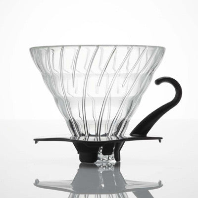 V60 Glass Dripper 02 / Black