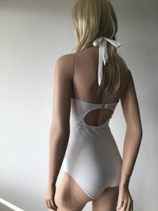 Double Net Halter One Piece
