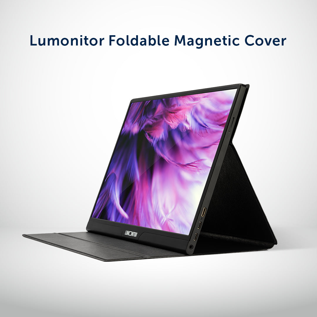Lumonitor Foldable Magnetic Stand + Cover