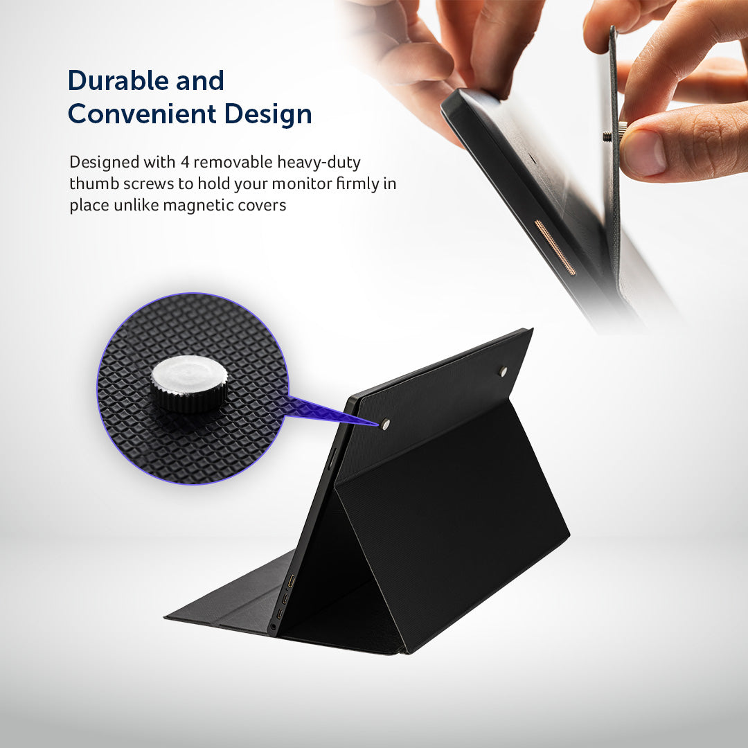 Lumonitor Foldable Magnetic Stand + Cover 3
