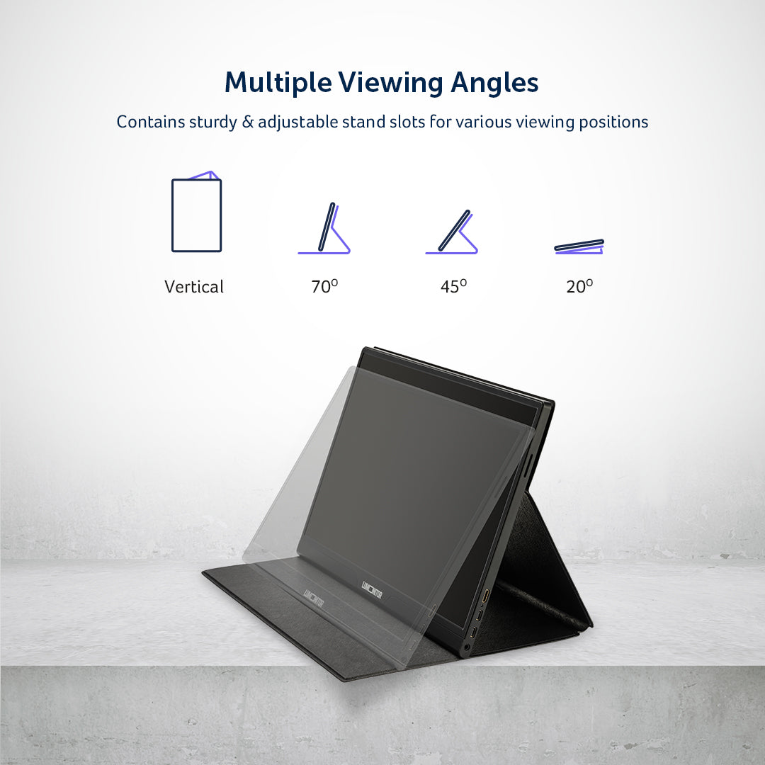 Lumonitor Foldable Magnetic Stand + Cover 4