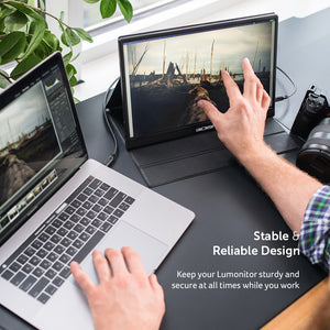Lumonitor Foldable Magnetic Stand + Cover 8