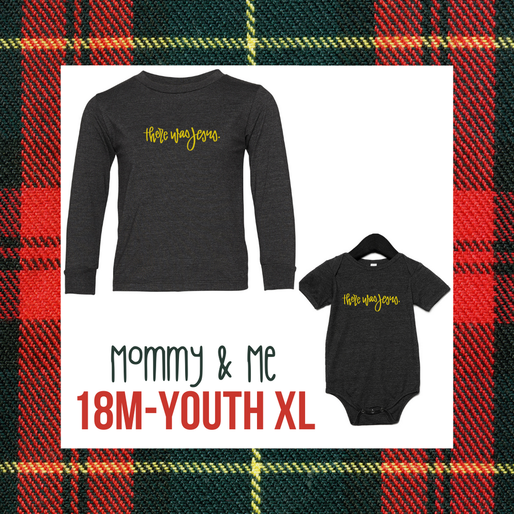 THERE WAS JESUS - YOUTH CHRISTMAS TEE