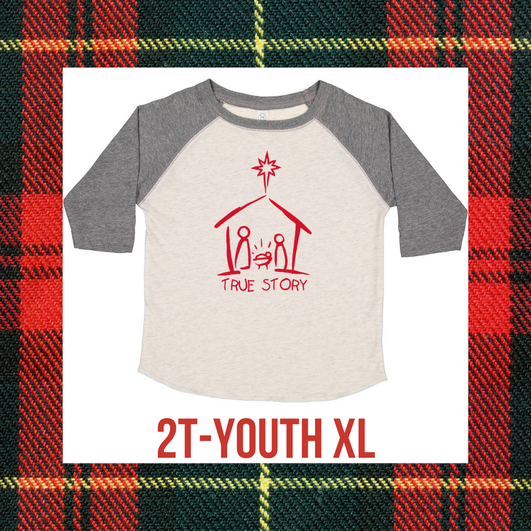 TRUE STORY - YOUTH CHRISTMAS TEE