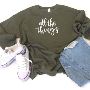 All the Things Crewneck Sweatshirt