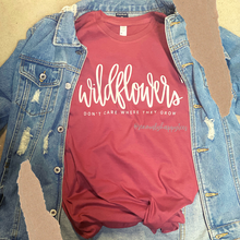 Load image into Gallery viewer, Dolly's Wildflowers Tee