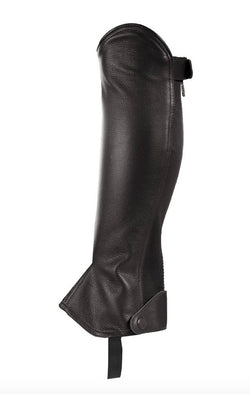 Horze Leather Half Chaps - Rider's Tack.Apparel.Supply