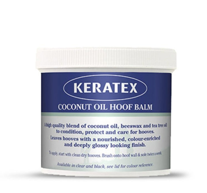 Keratex Coconut Oil Hoof Balm Clear 400g - Rider's Tack.Apparel.Supply