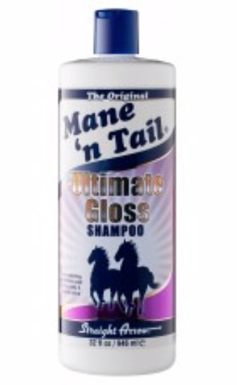 Mane n Tail Gloss Shampoo 946ml - Rider's Tack.Apparel.Supply