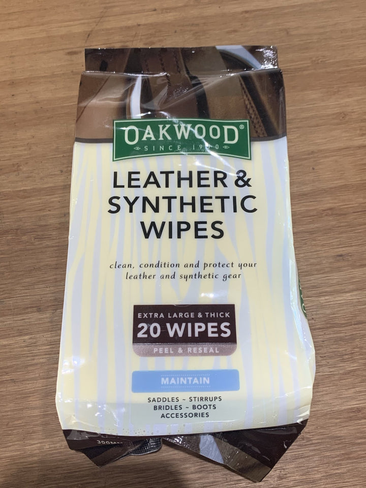 Oak wood wipes - Rider's Tack.Apparel.Supply