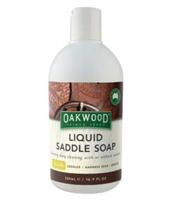 Oakwood Liquid Saddle Soap - Rider's Tack.Apparel.Supply