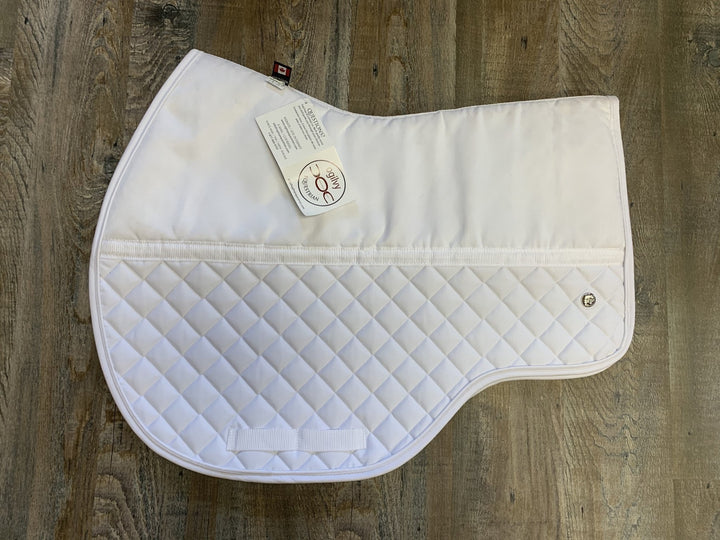Ogilvy Friction Free Eventing PP -White - Rider's Tack.Apparel.Supply