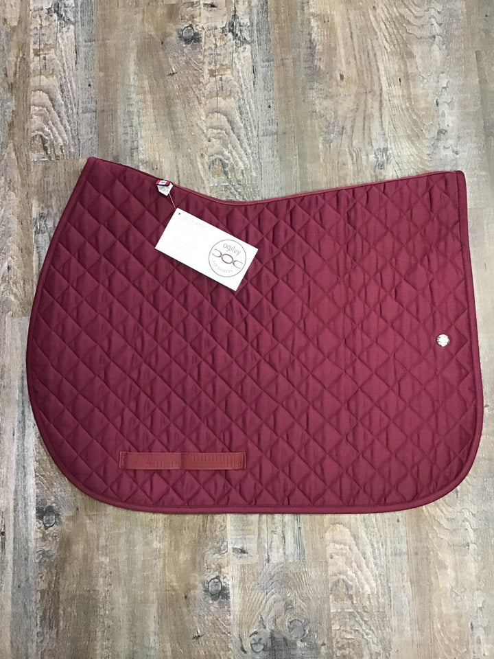 Ogilvy Jump PP - Burgundy with burgundy binding - Rider's Tack.Apparel.Supply