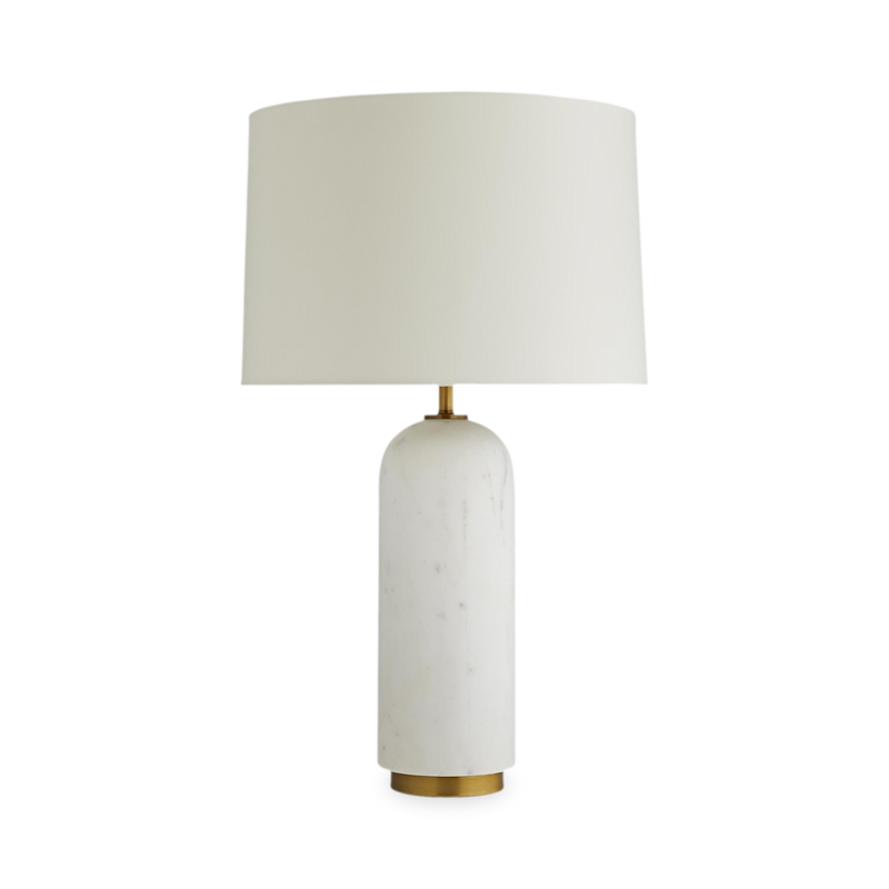 Marble Bullet Table Lamp