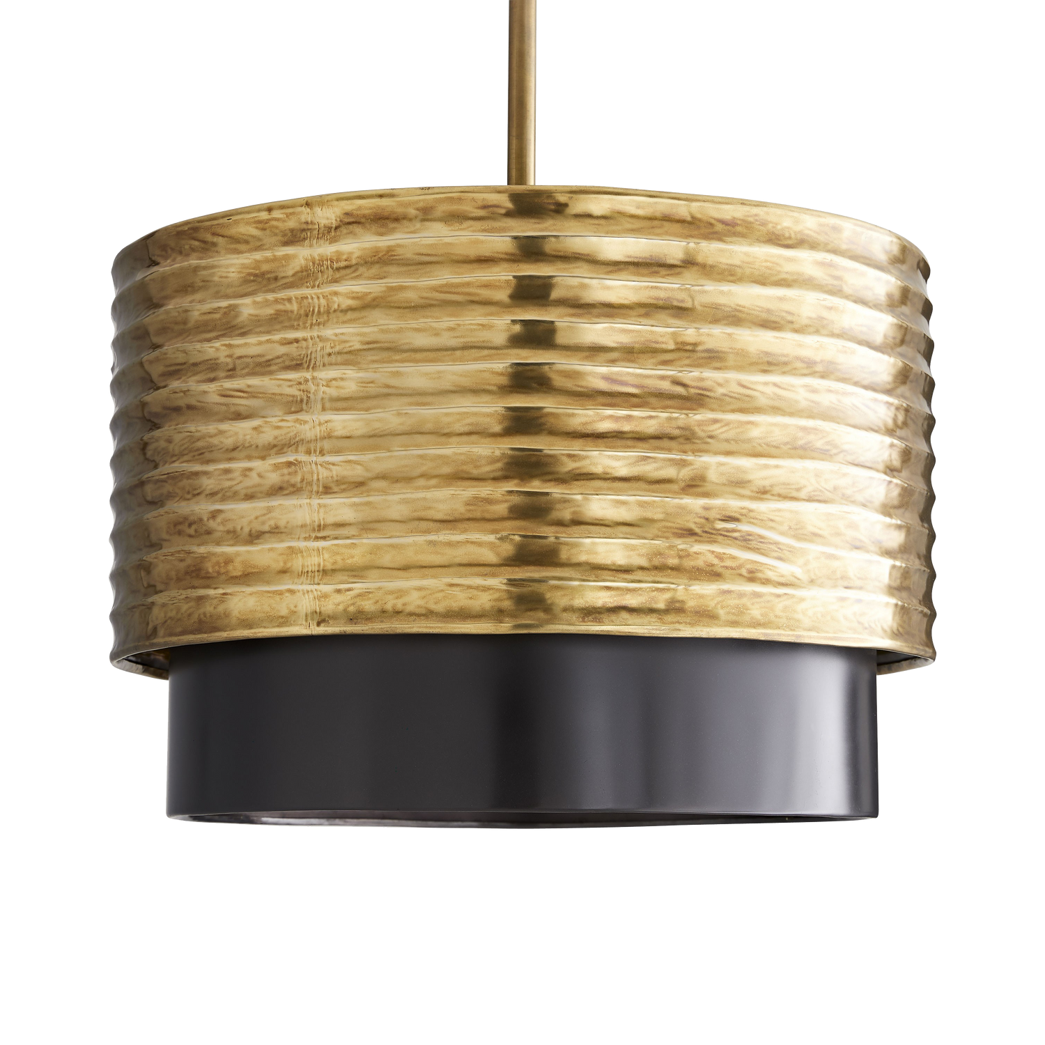 Ribbed Band Pendant Light