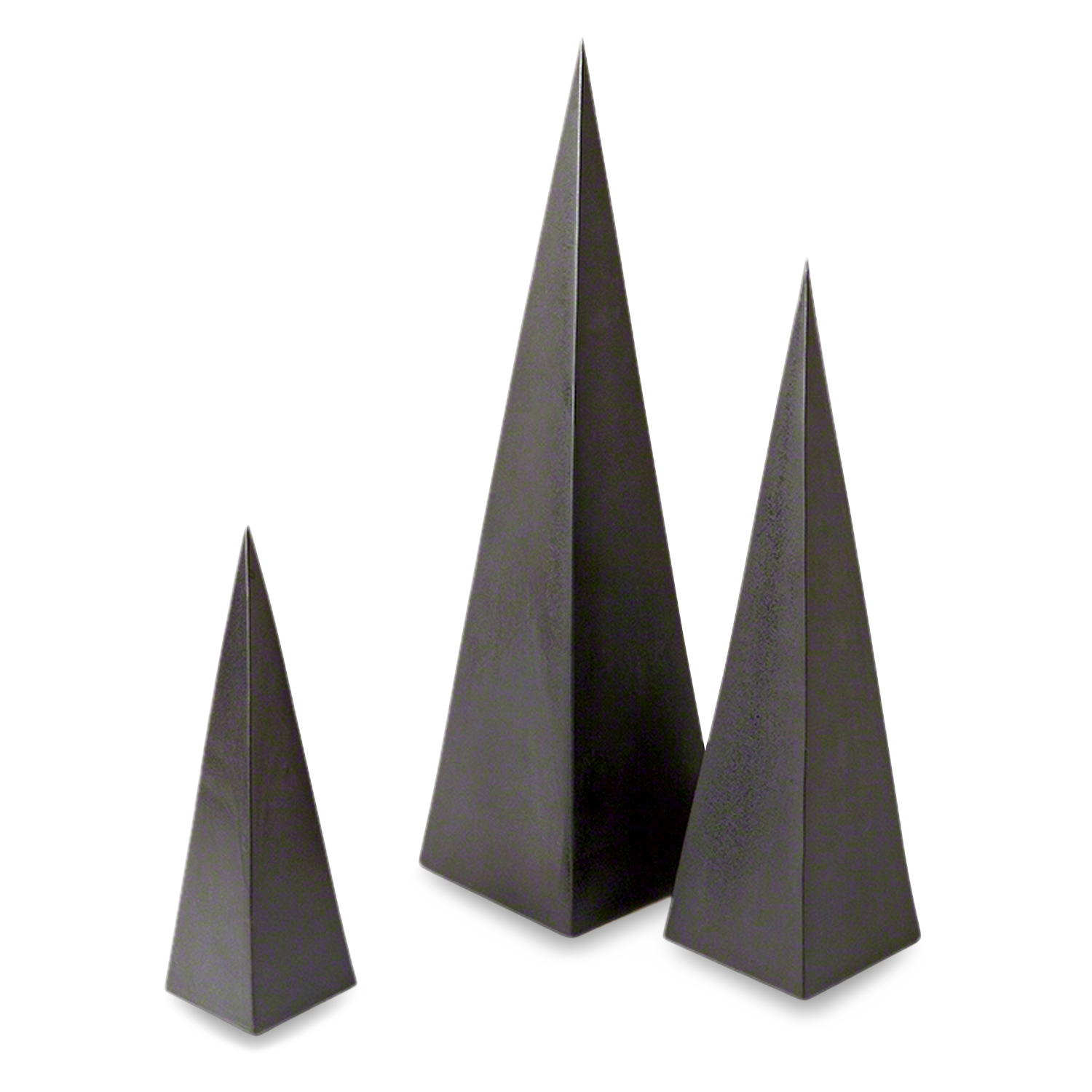 Pyramid Object Black