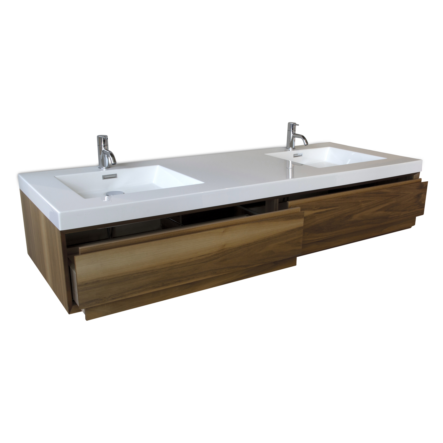 M 6010 Vanity - Natural Walnut