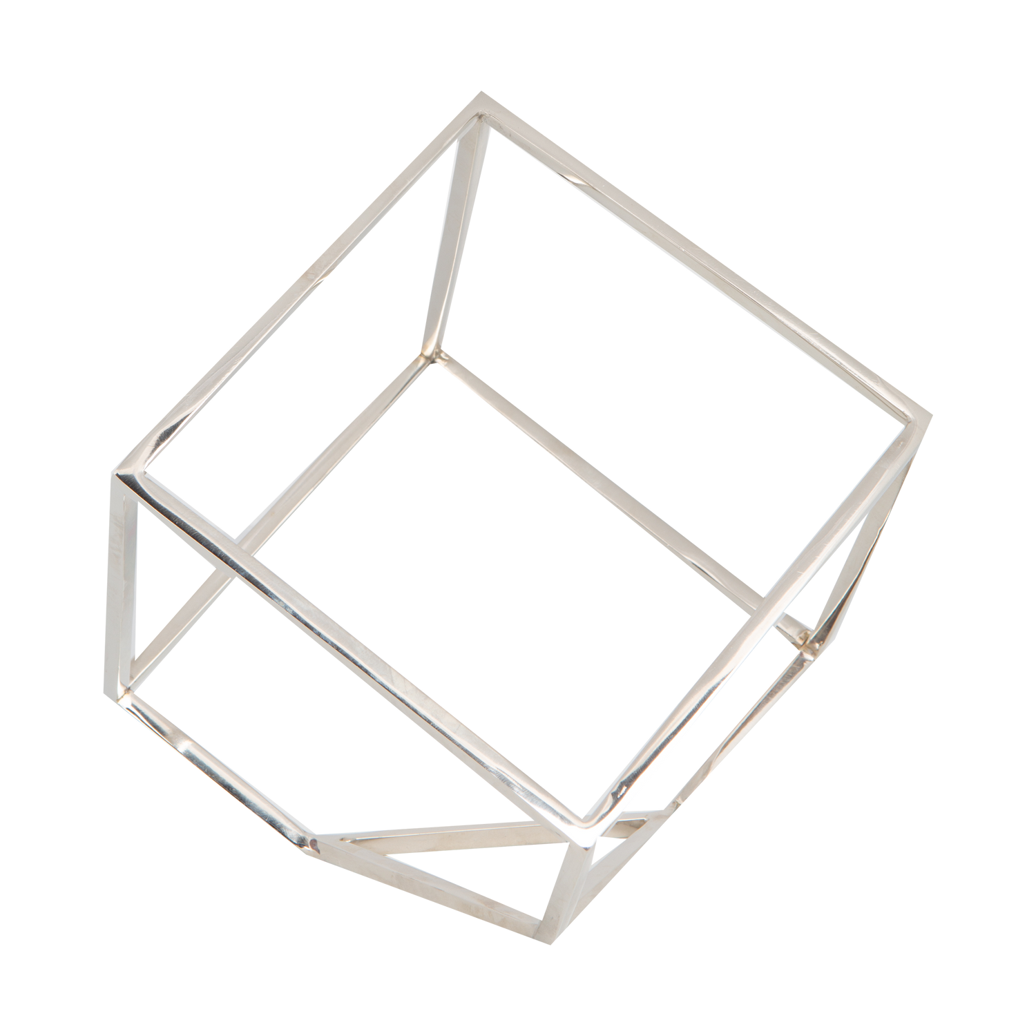 Open Cube Sculpture